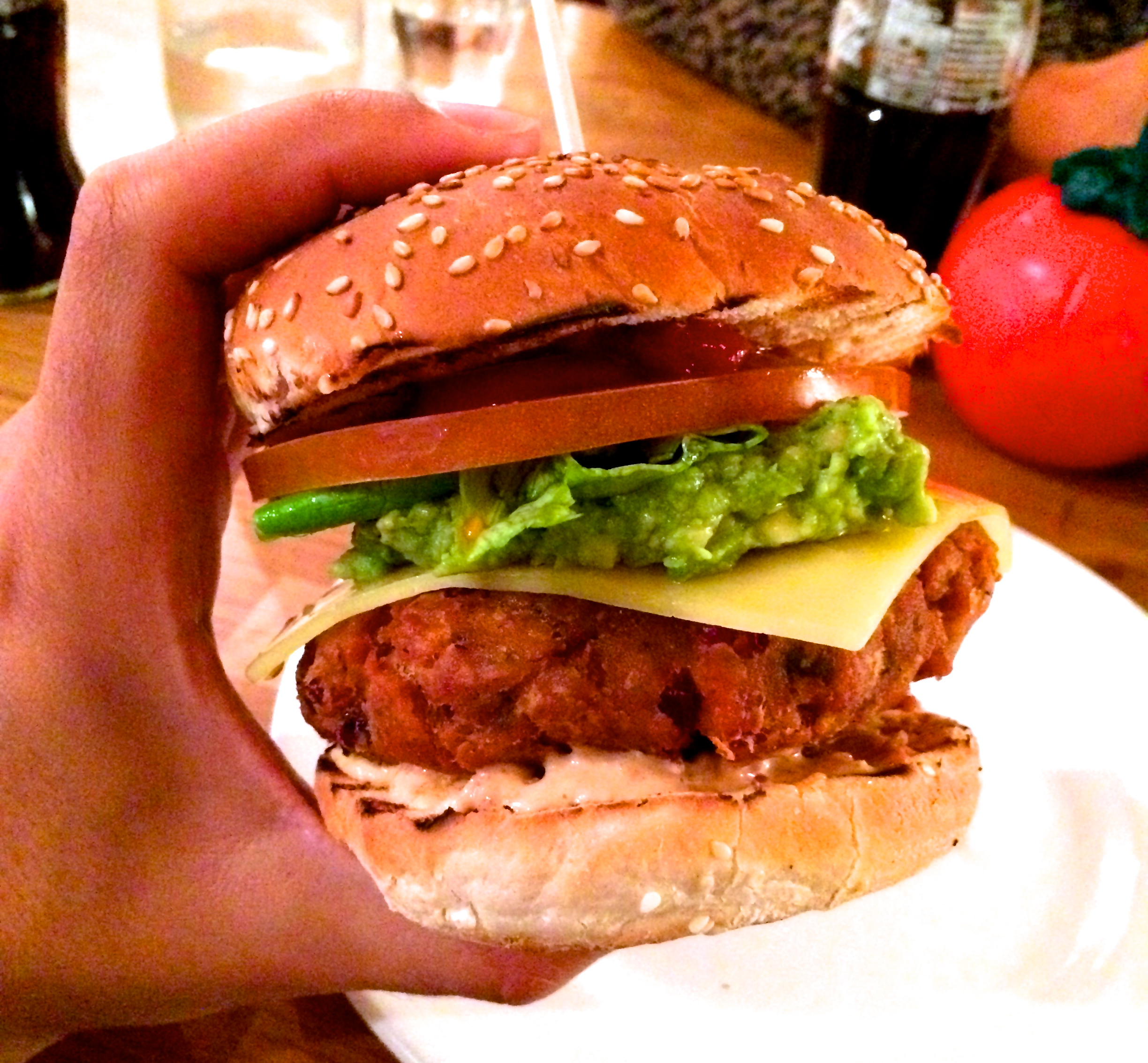 Gourmet Burger Kitchen | Veggie Matty\'s London Patties